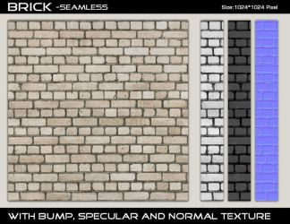 Brick Texture 6 - Seamless by AGF81