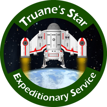 Truane's Star Expeditionary Service Logo by dagorym