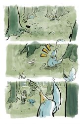 The Woodsman Page 7 by lookhappy