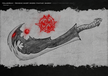 Demonic sword by Airon-T