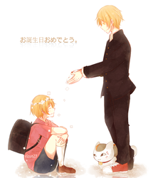 Happy Birthday Natsume by Rizun27