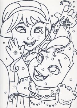 Unofficial Frozen Coloring Book Fun in the Snow by MyThoughtsAreDeep