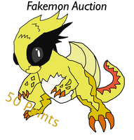 Fakemon Auction for 50 Points by Samjoos