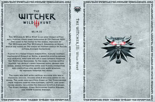 The Witcher III Custom Cover Art by Obscuriel