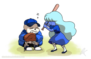Sophie and Sans by ClaraKerber