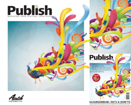 Publish Magazine by Msch