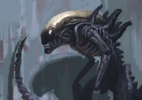 Xenomorph by EdwardDelandreArt
