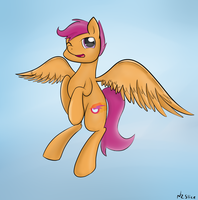 Teenage Scootaloo by nzslice