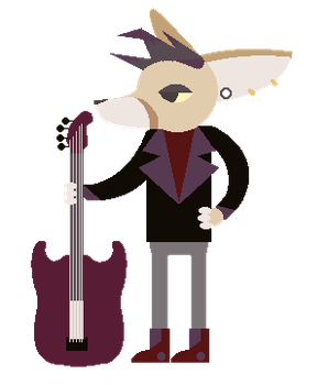 NITW Fennic Fox oc by FlutterWacken
