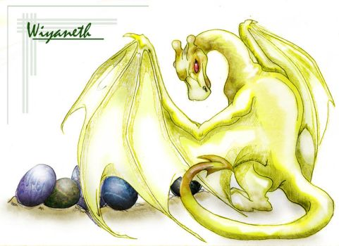 Dragon: Wiyaneth - ReCOLORED by kaleeko