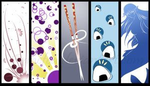 ACen 2009 Bookmarks by Ranefea