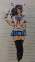 Yandere Chan by Scribbles001