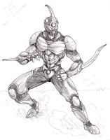 Proto-Guyver by 7th-Seal
