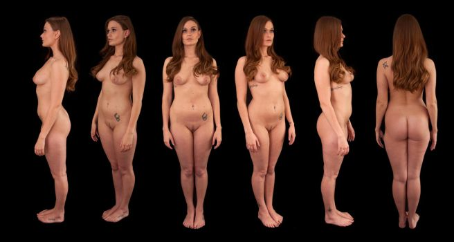 Honour May Orthographic Nude by LexLucas