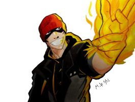 Delsin Rowe by MikeES