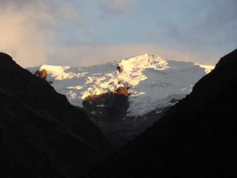 Sunrise in the Andes by AllyxG
