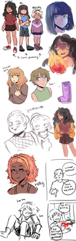 Kids from my childhood by Cheeseoritos