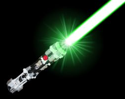 LEGO lightsaber activated by katze316