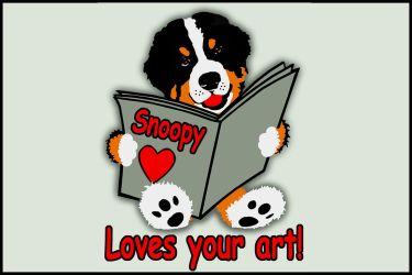 Love your art ! by WhoopySnoopy