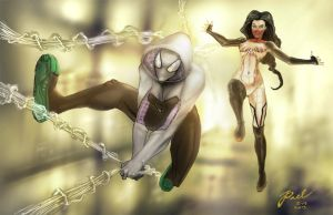 SPider-women by Superpael