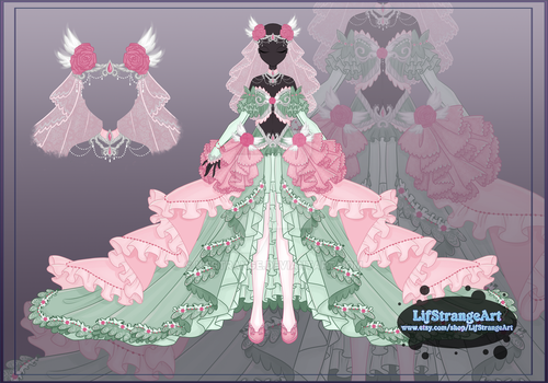 [Close]  Adoptable Outfit Auction 37 by LifStrange
