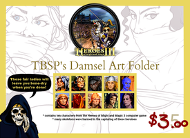 TBSP's HoMM 3 DiD Art Folder ON SALE $3.00! by TBSP-Art