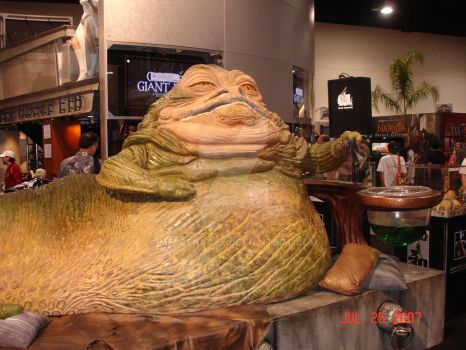 Jabba at Comic-Con 07 by MercenaryX