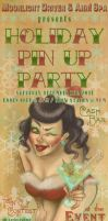 Holiday Pin Up Party Ticket by koanodan