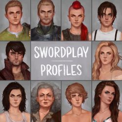 Swordplay Profiles by Tvonn9