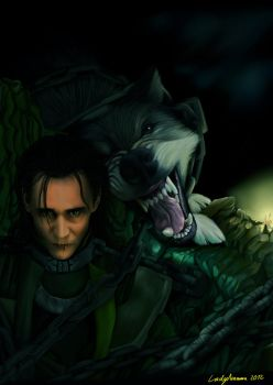 (Marvel Movies) Loki - Father and Son by Amarra