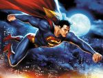 Superman in flight by JPRart