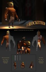 The Rocketeer by DuncanFraser