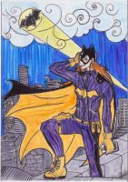 Brilliant Batgirl of Burnside by paper-stars