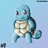Squirtle - Gotta Draw 'Em All #7 by Punished-Kom