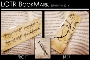 The Lord of the Rings BookMark [Commish] by BlackRayser