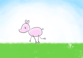 Little Piggie Walk! by KemikLy