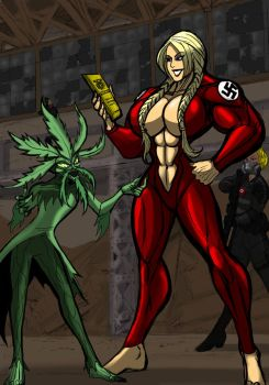 Genocide and the Weed final by johnnyharadrim