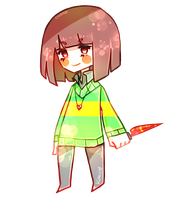 chara [undertale] by kiacii-official