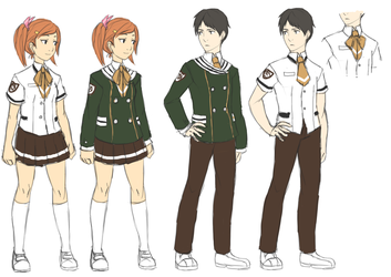Matsubayashi High School Uniform by Ansemaru
