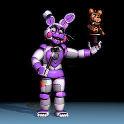 Funtime Bonnie by NeeTroo