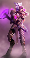 Commission: Draenei by Zynthex