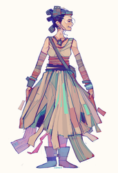 Rey-a-Day 67 Junkyard Dress by michaelfirman