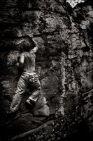Rock Climber by BlackCarrionRose