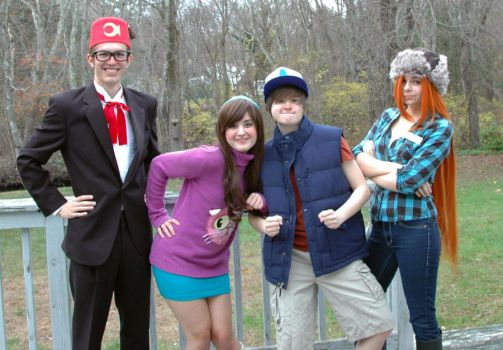 GRAVITY FALLS by MusketeersOfCosplay