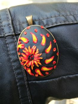 Polymer Clay pendant to WIN! Giveaway! by Gyemese