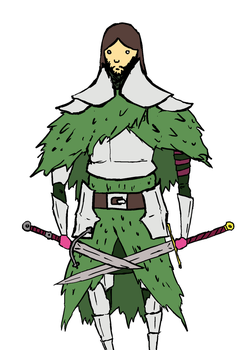green knight by amptcat