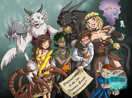 1st Anniversary Pic by Qvi by DoctorOverlord