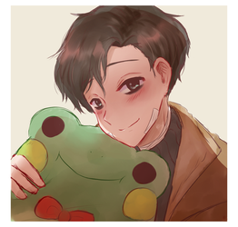 yoon bum and frog by detectiveee