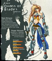 Rikku - Queen of Blades by Mbarok