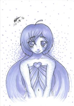 1 Marker Chalange-lady Of Purpul Heart by Blue-Fan-Girl